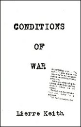 Book cover Conditions of War