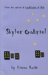 Book cover Skyler Gabriel